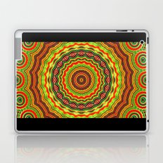 Trippy mandala  Laptop & iPad Skin