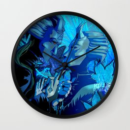 you're breaking your ground Wall Clock