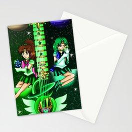 Fusion Sailor Moon Guitar #33 - Sailor Jupiter & Sailor Neptune Stationery Cards