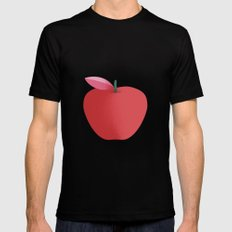 Apple 26 MEDIUM Black Mens Fitted Tee