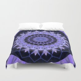 Mandala Path of enlightenment Duvet Cover