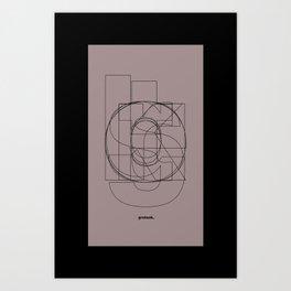 Die Neue Haas Grotesk (D) Art Print