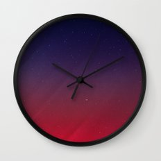 Get your Happy On   Abstract Wall Clock