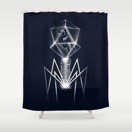 Human Virus Shower Curtain