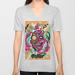 Flying Lotus Unisex V-Neck