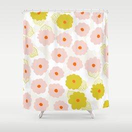 Olivia, flower child Shower Curtain