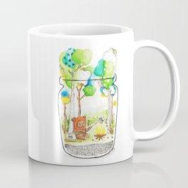 """Marshmallow"" Toasting Coffee Mug"