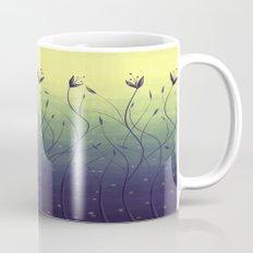Purple Algae Plants In Green Water Mug