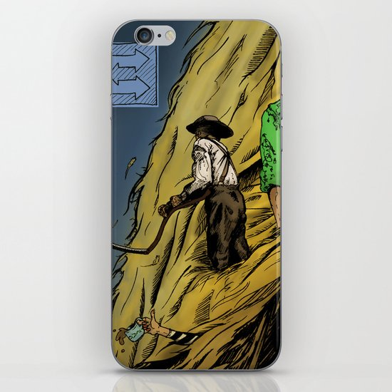 """""""Faces -Petty"""" by Cap Blackard iPhone & iPod Skin"""
