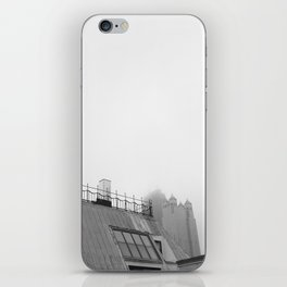 Chicago black&white 2 iPhone Skin