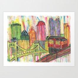 Pittsburgh Proud Art Print