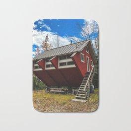Unique Cabin in Maine Bath Mat