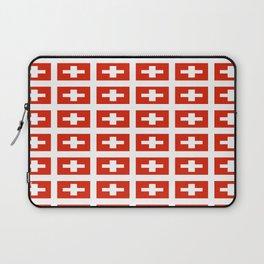 flag of Switzerland -,Swiss,Schweizer, Suisse,Helvetic,zurich,geneva,bern,godard,heidi Laptop Sleeve