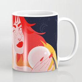 The fire witch - the fortune teller Coffee Mug