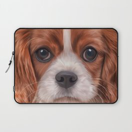 Drawing Cavalier King Charles Spaniel Laptop Sleeve
