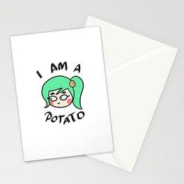 Potato Couple (Female) Stationery Cards