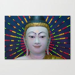 Neon Karma Canvas Print