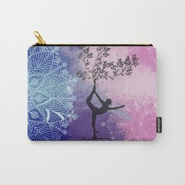 Mandala Tree Woman Carry-All Pouch