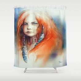 """Louve"" Shower Curtain"