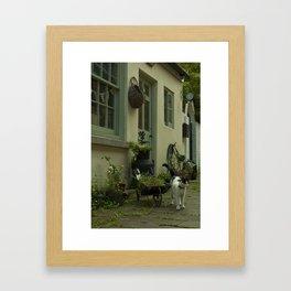 Think French  Framed Art Print