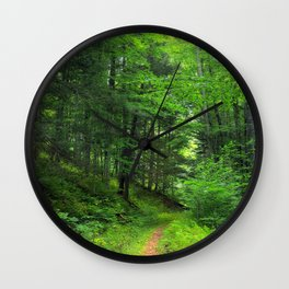 Forest 5 Wall Clock