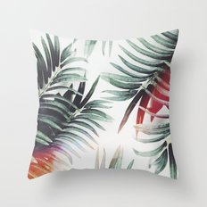 Vintage plants Throw Pillow