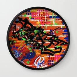 """""""PEACE"""" Wall Clock"""