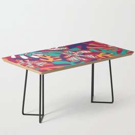 Matisse Pattern 009 Coffee Table