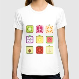 Squared Fruits T-shirt