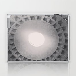 The Pantheon dome, architectural photography, Michael Kenna style, Rome photo Laptop & iPad Skin