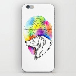 Bear Tarot iPhone Skin