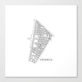 Tribeca, NY Canvas Print