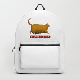OH LAWD HE COMIN Meme Backpack
