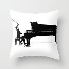 Piano Passion Throw Pillow