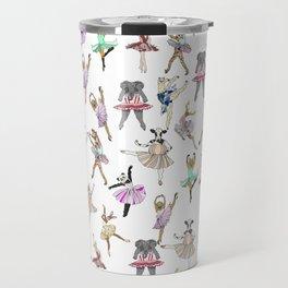 Animal Ballerinas Travel Mug