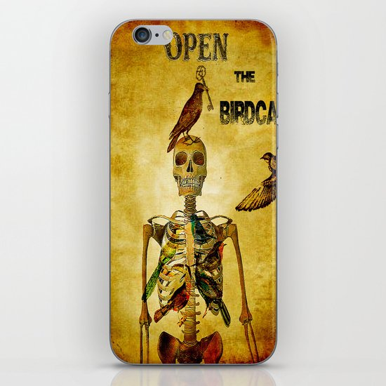 Open the Birdcage iPhone & iPod Skin