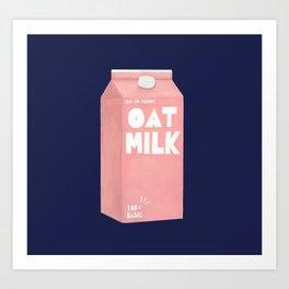 Oat Milk Pop Art Art Print