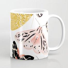 Moth's Diverse Beauty Pattern Coffee Mug
