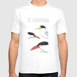 Turn! Turn! Turn! (Least Tern, Common Tern, Caspian Tern) T-shirt