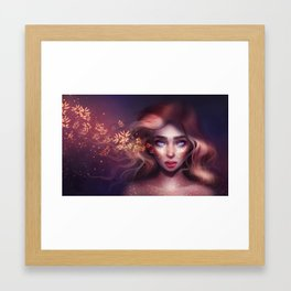 Jaded Beauty Framed Art Print