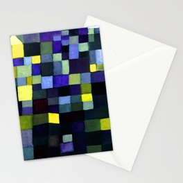 Paul Klee Architecture Stationery Cards