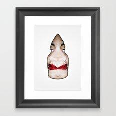 D_Face Framed Art Print