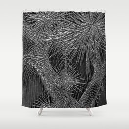 Joshua Tree Plata by CREYES Shower Curtain
