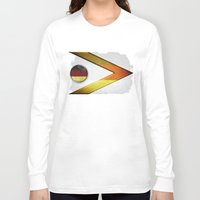 germany Long Sleeve T-shirts featuring Germany by ilustrarte