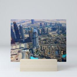 View from the Burj Khalifa Mini Art Print
