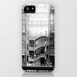 Bradbury Building, Downtown Los Angeles iPhone Case