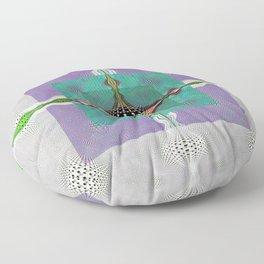 Sacred Healing Resonant Mandala Floor Pillow