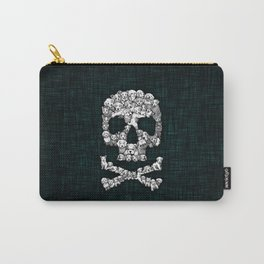 Skull Dogs Halloween Carry-All Pouch