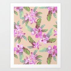 Tahitian Garden {C} Art Print