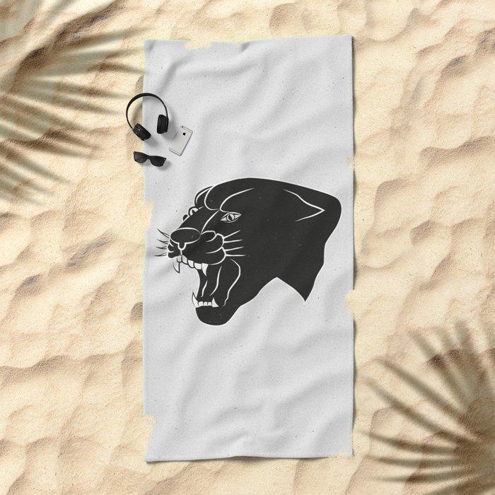 PANTHER Beach Towel